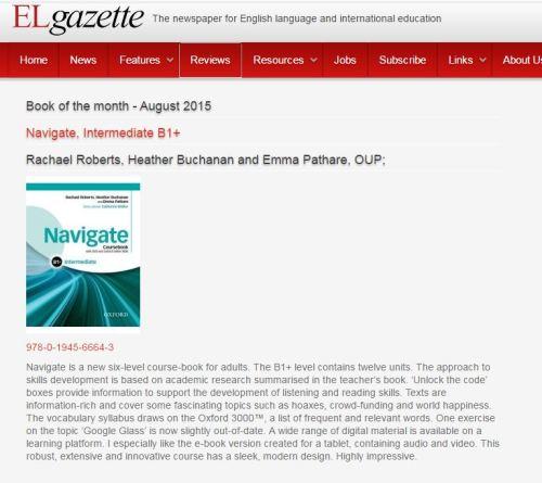 Navigate review EL